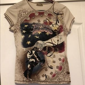 Tops - Bling Rodeo Tee